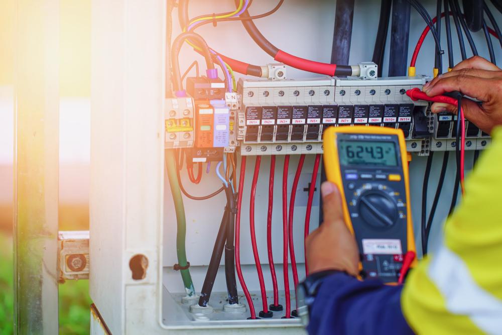 Les étapes à entreprendre dans le cas d'une installation électrique
